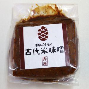 阿波古代米味噌(赤米)300g