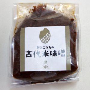 阿波古代米味噌(黒米)300g